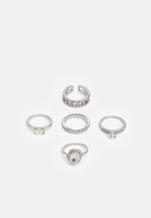 CROHATLAN 5 PACK - Ring - silver-coloured
