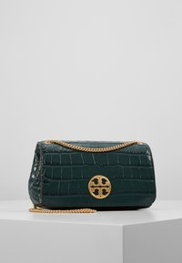 Tory Burch - CHELSEA EMBOSSED EVENING BAG - Torba na ramię - norwood - 0