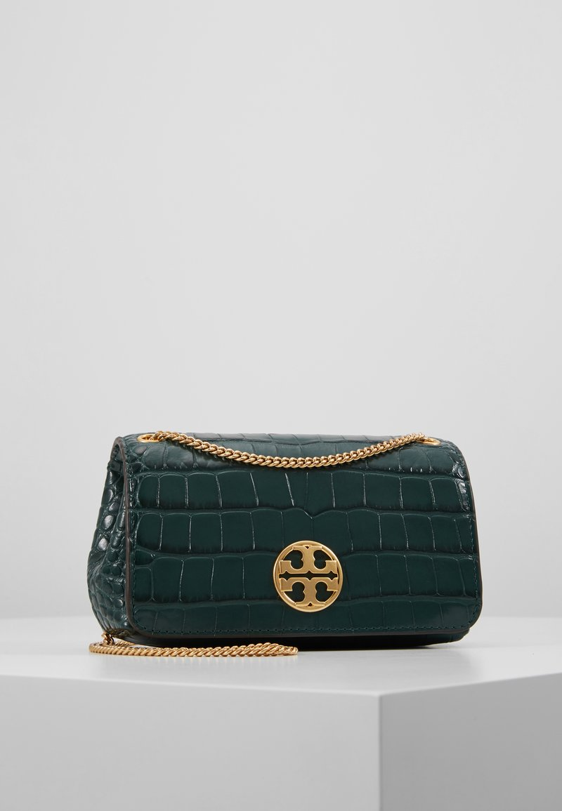 Tory Burch - CHELSEA EMBOSSED EVENING BAG - Torba na ramię - norwood