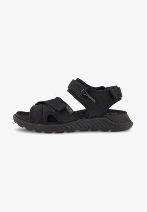 Walking sandals - black/black