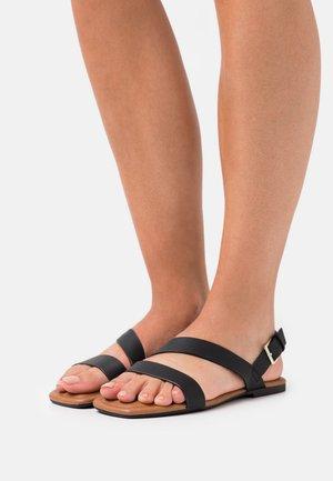 VEGAN IGGY - Sandals - black