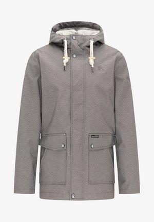 Waterproof jacket - gray melange