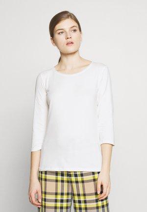 MULTIA - Long sleeved top - weiß