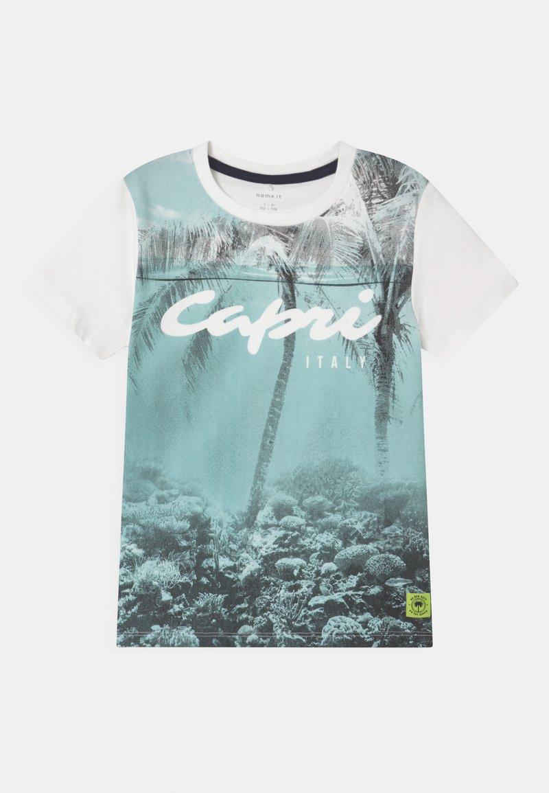 Name it - NKMHAFEZ - Print T-shirt - blue tint