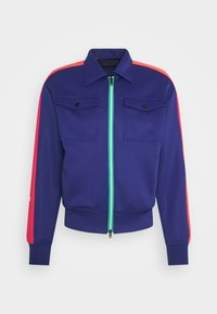 Viktor&Rolf - BE A NICE GENTLEMAN JACKET - Mikina na zip - navy