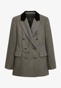 Massimo Dutti - Short coat - light grey - 3