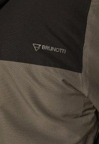 Brunotti - DAKOTO MENS SNOWJACKET - Snowboardová bunda - pine grey - 7