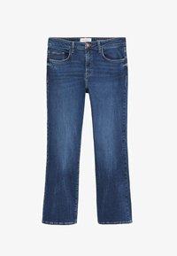 Violeta by Mango - MARTINA - Bootcut jeans - dark blue - 4
