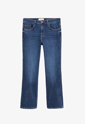 MARTINA - Bootcut jeans - dark blue