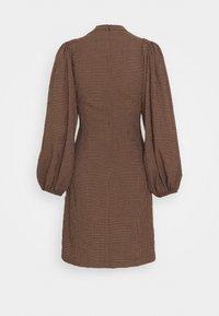 Samsøe Samsøe - HARRIETTA SHORT DRESS - Day dress - argan - 1