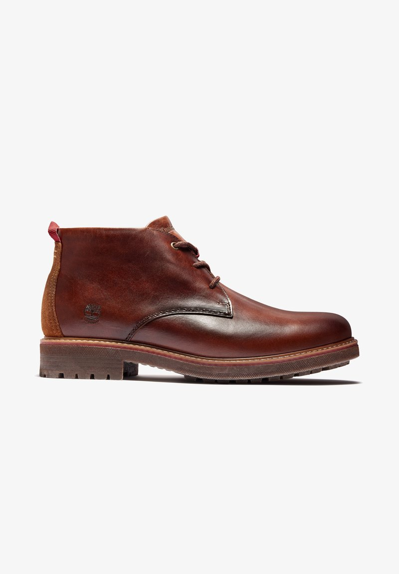Timberland - OAKROCK WP CHUKKA - Lace-up ankle boots - med brown full grain