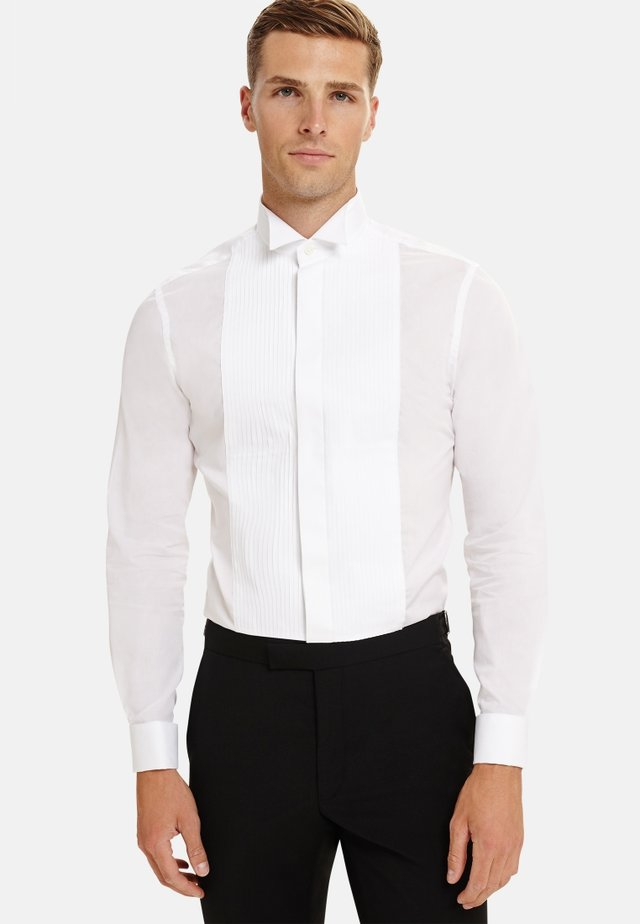 FITTED DRESS SHIRT - Formal shirt - white