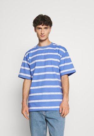 ORIGINALS STRIPE TEE UNISEX - T-shirt z nadrukiem - blue