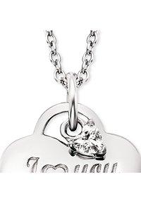 Engelsrufer - ENGELSRUFER DAMEN-KETTE KETTE LOVE MOM MIT ZIRKONIA 925ER SILBER - Necklace - silver - 0