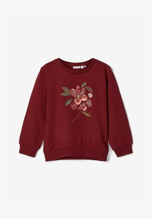 Sweater - cabernet