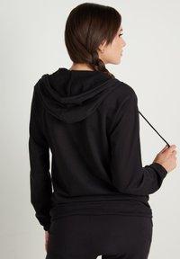 Tezenis - Zip-up sweatshirt - nero - 1