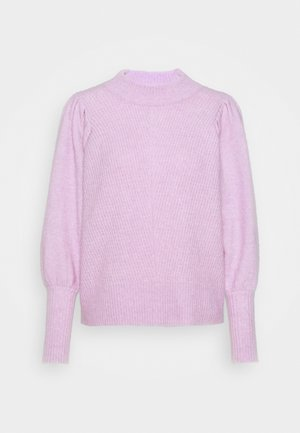 SLFLINNA NEW O NECK - Strickpullover - fair orchid