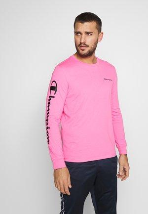 LONG SLEEVE CREWNECK - Maglietta a manica lunga - pink