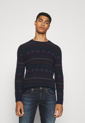 LONG SLEEVE - Maglione - navy