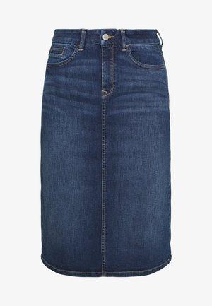 OCS SKIRT DENIM - Spódnica ołówkowa  - blue medium wash