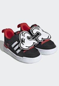 adidas Originals - FORUM 360 I ORIGINALS CONCEPT SNEAKERS SHOES - Sneaker low - core black/ftwr white/vivid red - 5