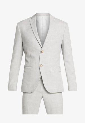 NEUTRAL CHECK SUIT - Kostym - light grey