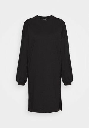 PERFECT SLIT DRESS - Kjole - black