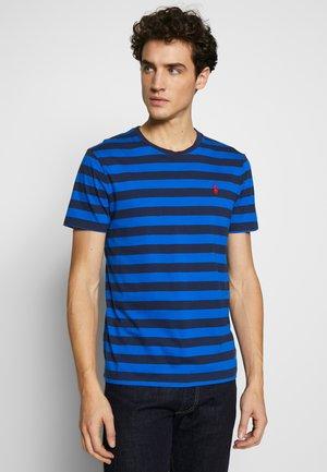 Print T-shirt - roya blue/dark blue