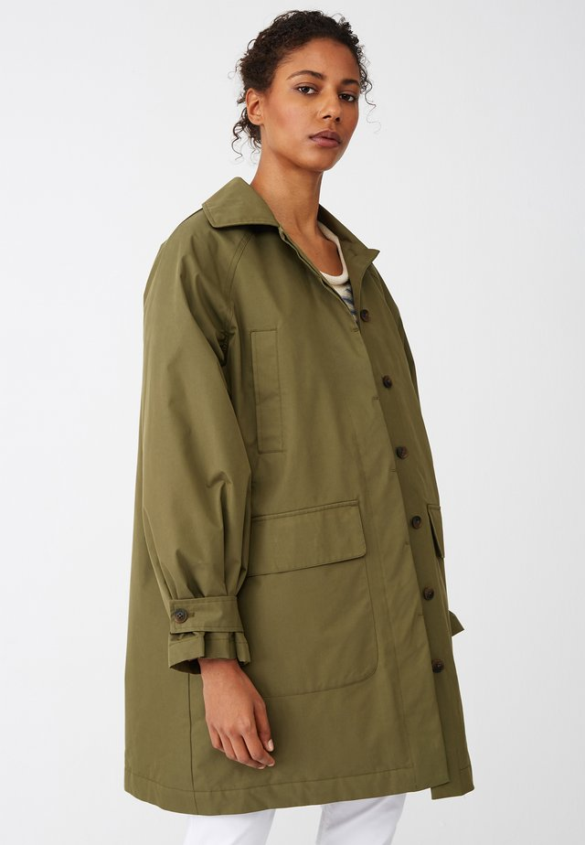 Short coat - green