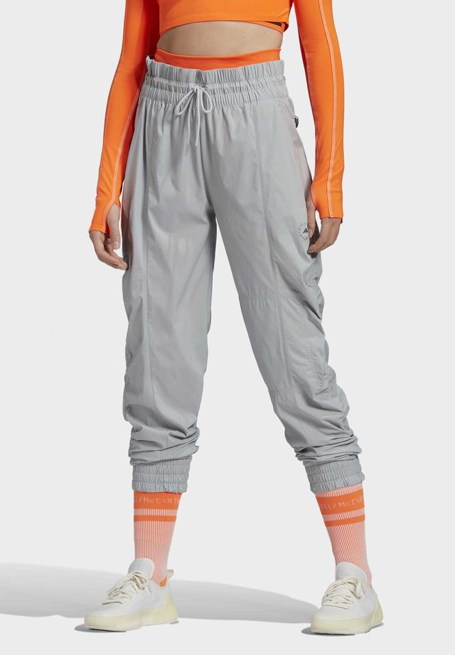 WOVEN JOGGERS - Pantaloni sportivi - grey