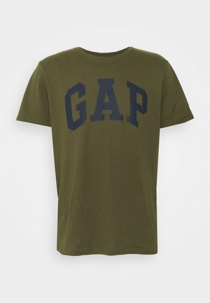 BASIC LOGO - T-shirt imprimé - army green