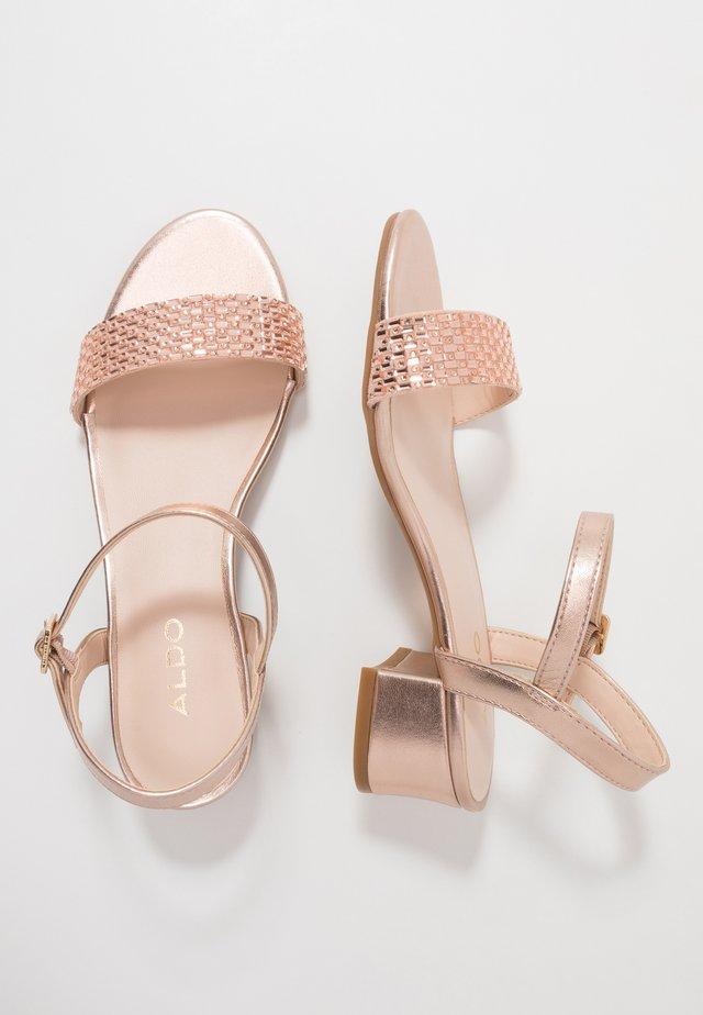 OLYNI - Sandals - rose gold