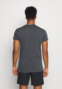 adidas Performance - TECH TEE - Basic T-shirt - black - 2