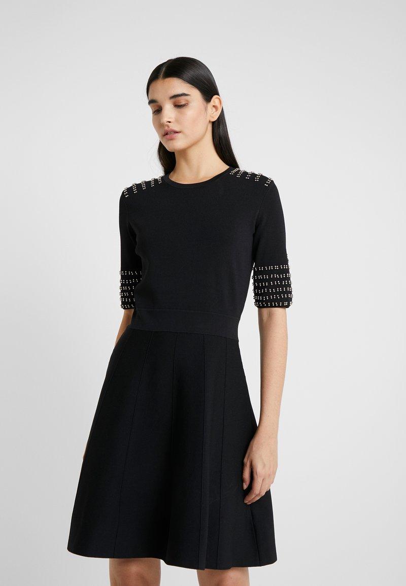 Patrizia Pepe - ABITO DRESS - Koktejlové šaty/ šaty na párty - nero