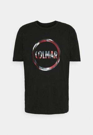 MENS SOLID COLOR - Print T-shirt - black