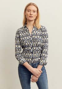 More & More - GRAPHICAL PRINT - Button-down blouse - mehrfarbig - 0