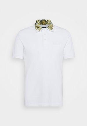 Koszulka polo - bianco/gold