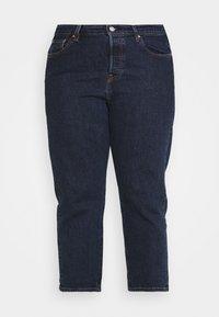 Levi's® Plus - PL 501 CROP - Straight leg jeans - salsa stonewash - 3
