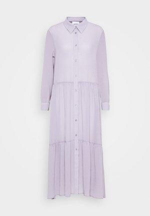 COLLINA DRESS - Abito a camicia - solid purple