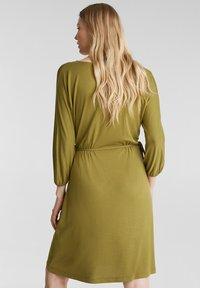 Esprit - FASHION - Korte jurk - olive - 2