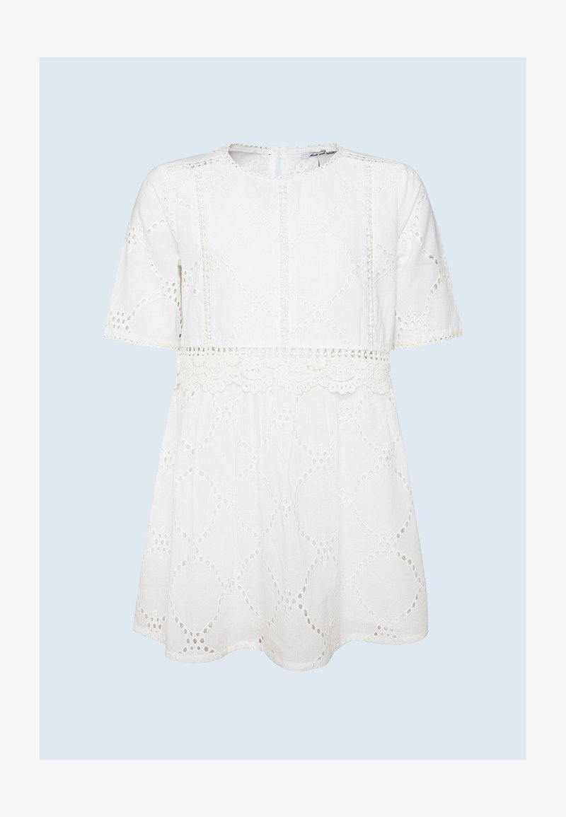 Pepe Jeans - LUNA - Day dress - optic weiss