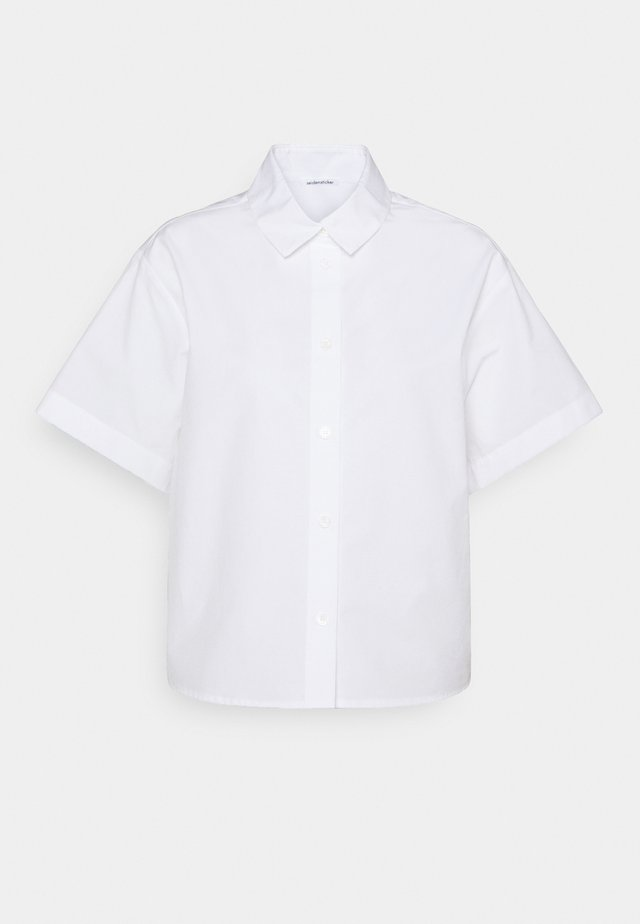 KURZARM - Overhemdblouse - weiß