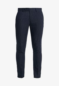 Piazza Italia - PANTALONE - Spodnie garniturowe - blue - 4