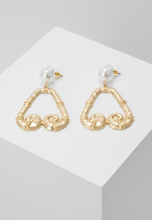 AND SCROLL - Pendientes - cream
