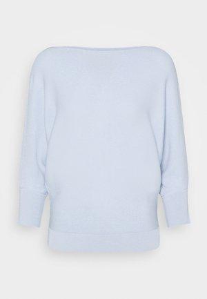 SIBARI - Strikkegenser - azurblau