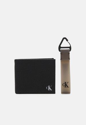 BILLFOLD COIN + KEYFOB SET - Portafoglio - black