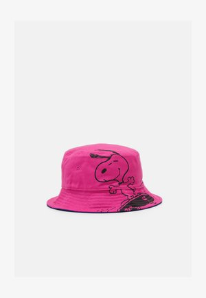REVERSIBLE SNOOPY SPORT BUCKET HAT UNISEX - Hatt - regular pink
