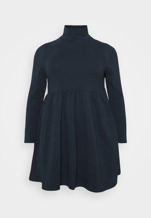 SMOCK DRESS - Denní šaty - navy