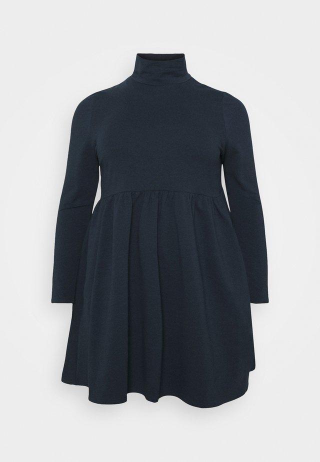 SMOCK DRESS - Vestido informal - navy