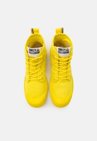 Palladium - PAMPA PRIDE X SMILEY - Lace-up ankle boots - yellow